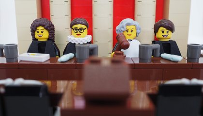 Celebrating the Women of the Supreme Court With LEGOs