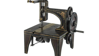 How Singer Won the Sewing Machine War