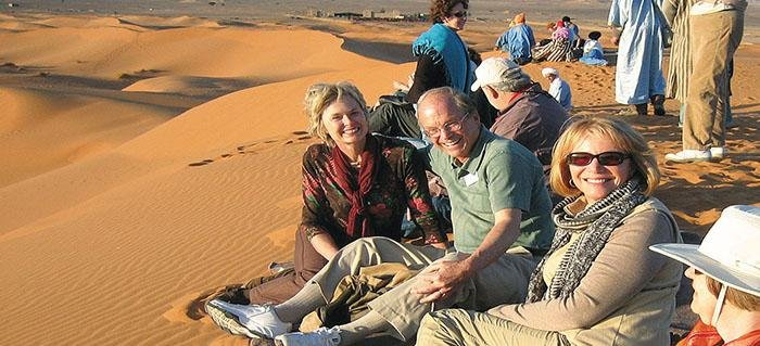 Smithsonian travelers in Morocco