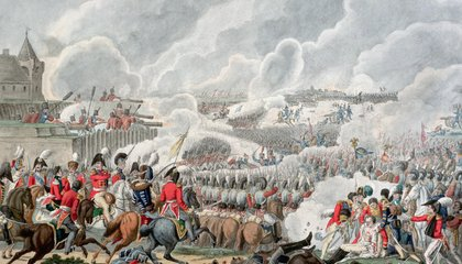 The American at the Battle of Waterloo