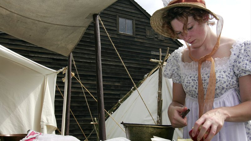 Break out your best bonnet for various reenactments and historical exhibits in Plattsburgh