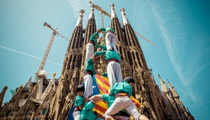 What Does a 36-Foot-Tall Human Tower Have to Do With Catalan Independence?