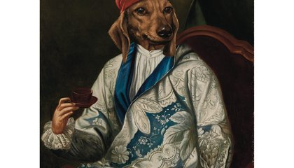 You Too Can Own a Portrait of a Dog Dressed as a Person
