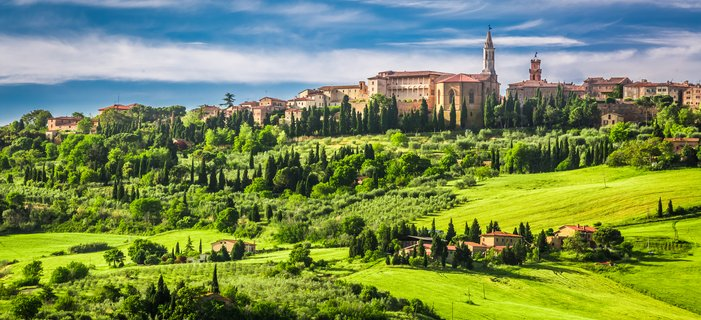 Gems of Tuscany and Umbria <p>Travel under the Tuscan &ndash; and Umbrian &ndash; sun, on a leisurely idyll through two of Italy&rsquo;s most storied regions. Ancient Etruscan hill towns, timeless landscapes, awe-inspiring art, and especially, openhearted people, render the essence of Italy. And a stay in the &ldquo;Eternal City&rdquo; of Rome adds the grace note to this small group tour.&nbsp;</p>