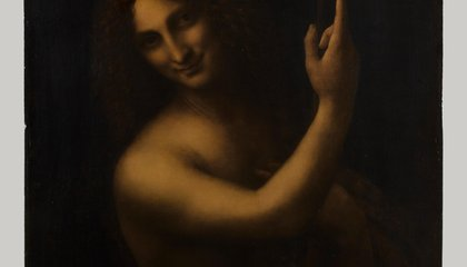 "The Louvre Has Restored ""St. John the Baptist"""