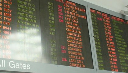 This Winter's Record Number of Plane Cancellations Can't Entirely Be Blamed on Weather