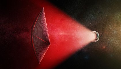 Are Fast Radio Bursts from Alien Spacecraft? It's Unlikely, but Possible