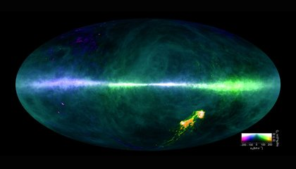 This Breathtaking Map Traces Hydrogen Throughout the Milky Way
