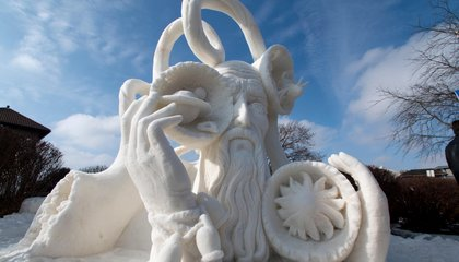 Learn the Secrets of the World's Best Snow Sculptors