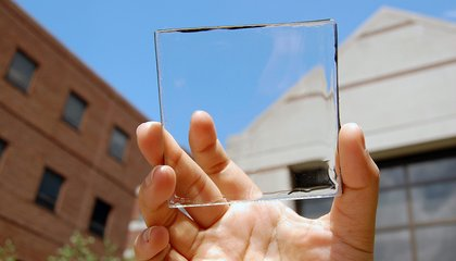 This Clear Plastic Material Harvests Solar Energy Without You Even Knowing It's There
