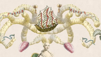 Create Your Own Delightful, Excessive Version of 18th-Century Women's Hairstyles