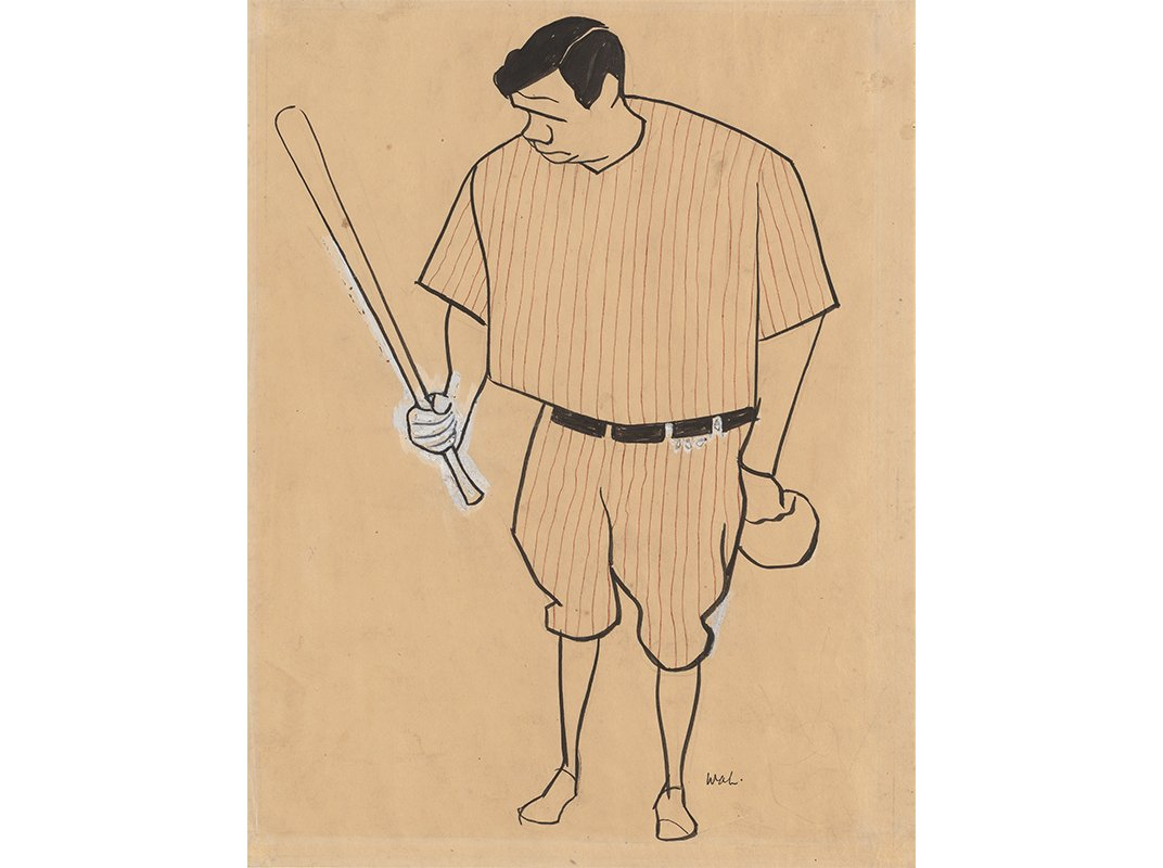 babe ruth hit a home run celebrity product endorsements at babe ruth by william auerbach levy c 1929 national portrait gallery