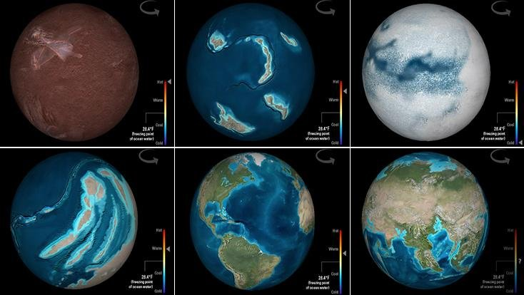 Travel Through Deep Time With This Interactive Earth – Earth Interactive Map