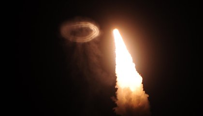 Minuteman, the Missile that Blows Smoke Rings