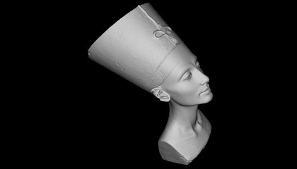 Thanks to Sneaky Scanners, Anyone Can 3D Print a Copy of Nefertiti's Bust