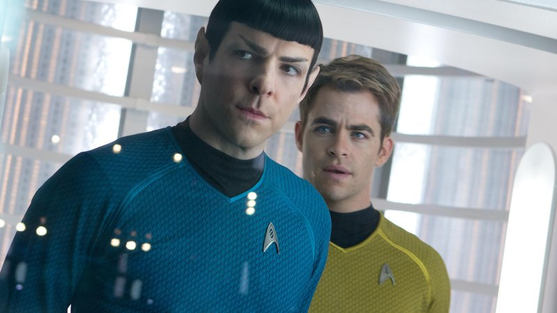 Pegg says that some of <em>Star Trek into Darkness'</em> flaws stemmed from a haste to explore the relationship between Spock (Zachary Quinto) and Kirk (Chris Pine).