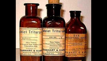 Homeopathic Remedies Now Require Disclaimers Saying They're Not Scientific