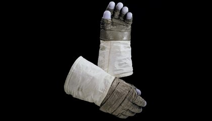 Neil Armstrong's Gloves and Helmet Go Back on Display