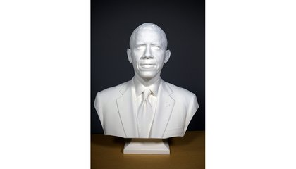 President Obama is Now the First President to be 3D Scanned and Printed