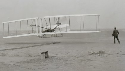 Wright Brothers' Patent Application, Missing for 36 Years, Turns Up Underground