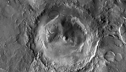 Curiosity Rover's Mars Crater May Have Cradled Large Lakes