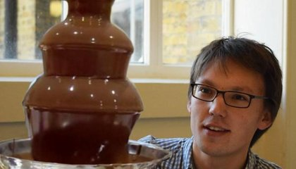 Chocolate Fountains are Great for Physics Lessons