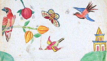 """See the Doodles Darwin's Children Made in His """"On the Origin of Species"""" Manuscript"""