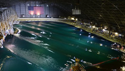 The Navy Tests Its Ships in This Indoor Ocean