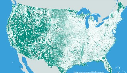 These Are All the Places in the United States Where Nobody Lives