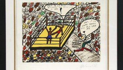Artwork by Muhammad Ali Is Going up For Auction