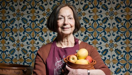 Celebrated Middle Eastern Food Writer Claudia Roden Shares Stories and Recipes From Her Kitchen
