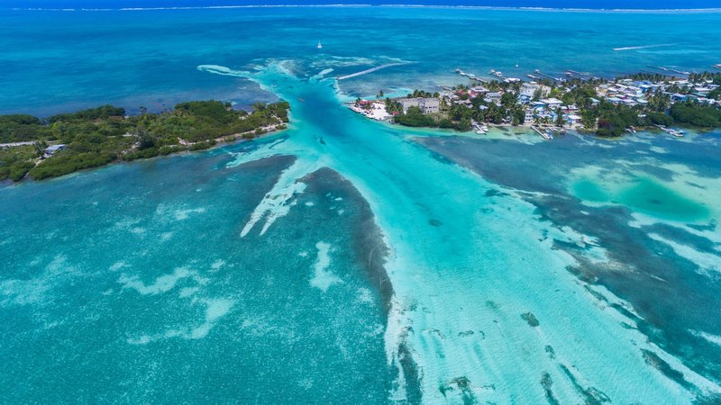 Forty percent of Belizeans live along the country's coast; protecting the coastline, then, is not just beneficial to the environment, but to the people who live there.