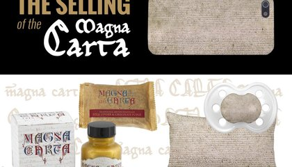 The Ridiculous World of Magna Carta Kitsch