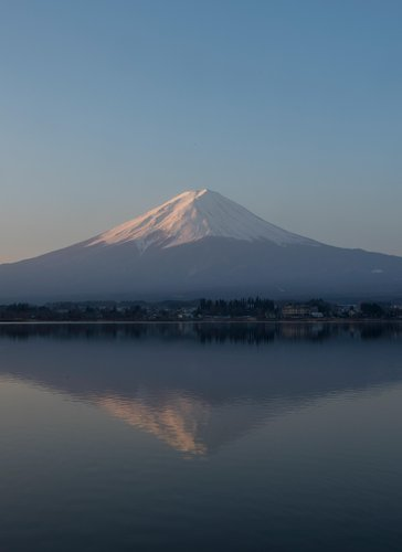Caption: A Visit to Mount Fuji