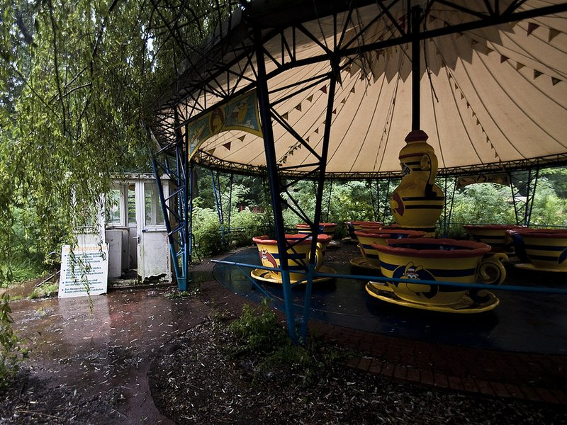 Abandoned Ride At Spreepark
