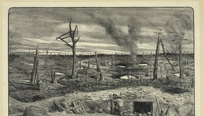 """The Legend of What Actually Lived in the """"No Man's Land"""" Between World War I's Trenches"""