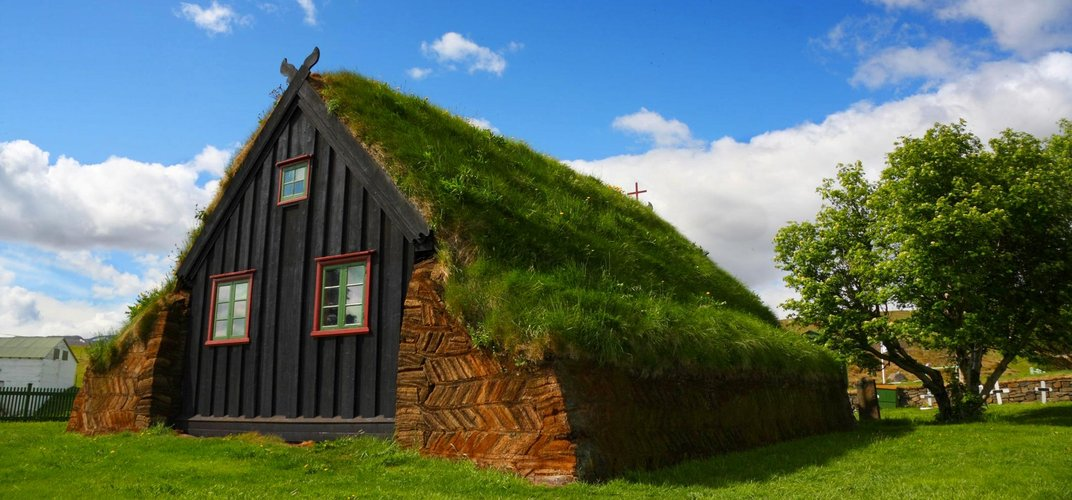 Traditional Icelandic home