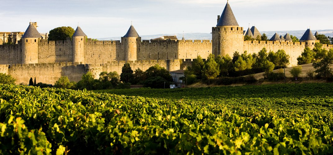 The quintessential medieval town of Carcassonne