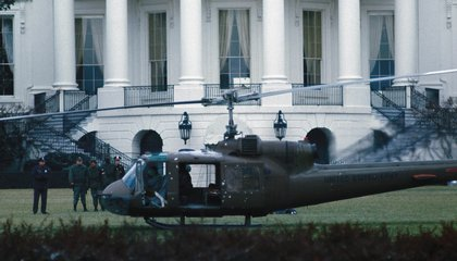 The Time a Stolen Helicopter Landed on the White House Lawn