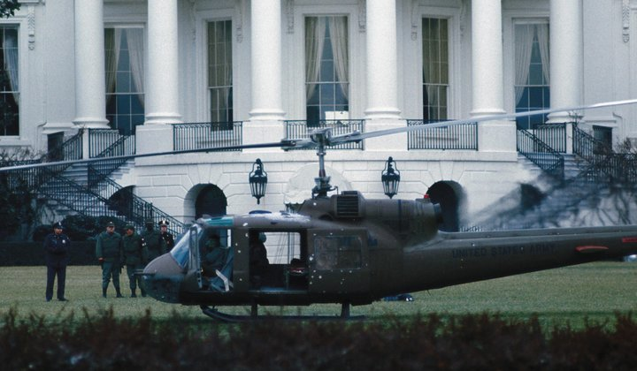 This Stolen Helicopter Landed at the White House