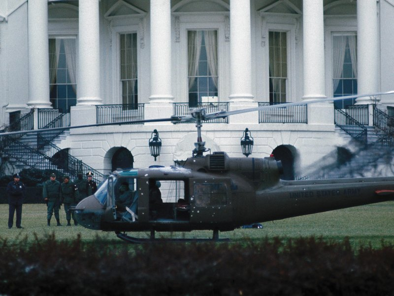 The Time a Stolen Helicopter Landed on the White House ...