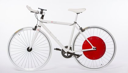 This Wheel Turns Your Bicycle Into An Electric Hybrid