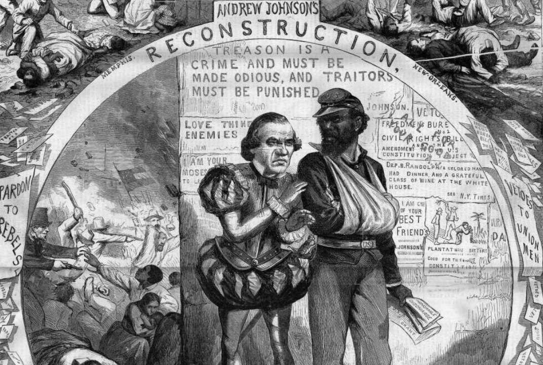 era of reconstruction The period of presidential reconstruction lasted from 1865 to 1867 andrew johnson, as lincoln's successor, proposed a very lenient policy toward the south he pardoned most southern whites, appointed provisional governors and outlined steps for the creation of new state governments.