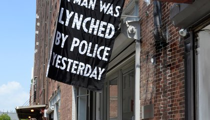 How an Anti-Lynching Banner From the 1920s and '30s Is Being Updated to Protest Modern-Day Violence