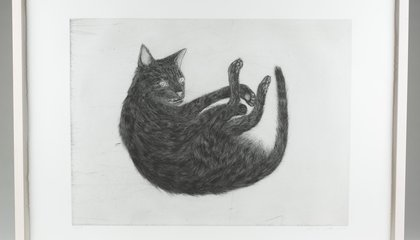A Massive Collection of Cat Art Is up for Auction
