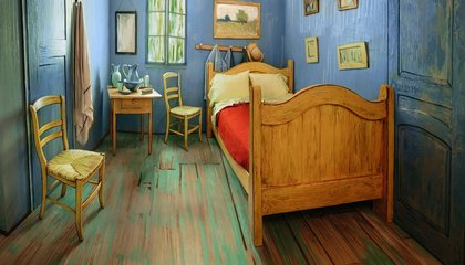 Rent a Recreation of Van Gogh's Bedroom and Other Artistic Airbnbs