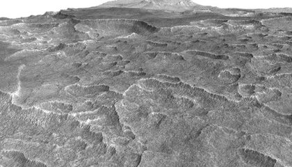 This Massive Martian Field of Ice Could Fill Lake Superior