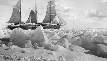Restored Photos From Shackleton's Antarctic Wreck Reveal New Details