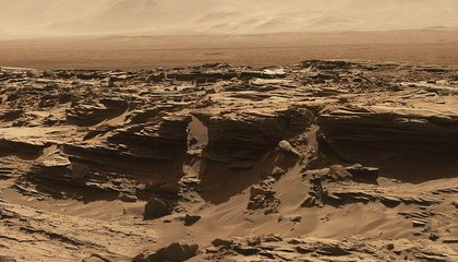 Here's a Panoramic Glimpse of the Curiosity Rover's Next Destination