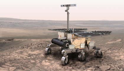 ExoMars: A Crabwalking Rover With a Chance to Find Life